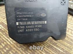 08 09 2008 2009 Kia Sportage Tucson ABS Pump Anti Lock Brake Module 58920-1f300