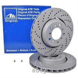 1 Set ATE Brake Discs For Front Left and Right BMW