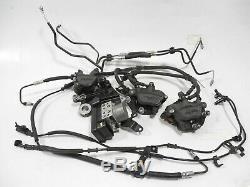 17 18 19 Kawasaki Ninja Ex-650 Ex650 Abs System Pump Front & Rear Calipers Lines