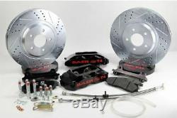 1988-1996 Corvette C4 Baer BLACK Track4 Brake System 13 Rotors 647439