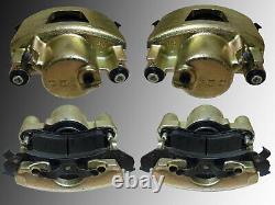 2 Brake Caliper Front Left and Right & Brake Shoe Chevrolet Camaro 1994-1997