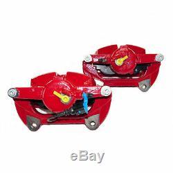 2 brake calipers front brakes 340mm red VW Golf Mk7 GTI performance brake system