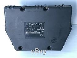 2001 2002 Mercedes C-Class Anti Brake System ABS Control Module A2035451632 OEM