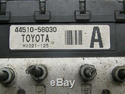2001 2006 Jdm Toyota Estima Hybrid Ahr10 Abs Anti Brake System Factory Oem