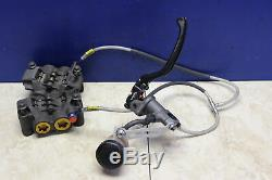 2004-2006 Yamaha Yzf R1 COMPLETE FRONT BRAKE SYSTEM Brembo Master Galfer Lines