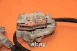 2005 05-07 YZ125 YZ250 Front Brake System Master Cylinder Caliper Holder Lever