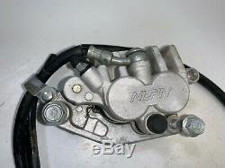 2005 05-16 Yamaha Yz250f Front Brake System Lever Caliper Master Cylinder