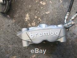 2011-2019 Suzuki Gsxr 600 750 Complete Oem Front Brembo Brake System
