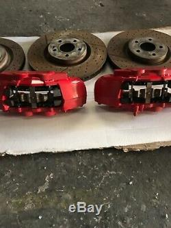 2017 Mercedes Benz W176 A45 Amg Complete Brembo Brake System Calipers & Discs
