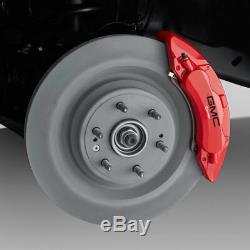 2019 GMC Sierra 1500 Performance Front Brake System 23505024 Red Brembo 6 Piston