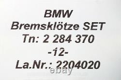 2284370 New Orig BMW M5 F10 Brake Pads For Carbon Ceramic Brake System Front