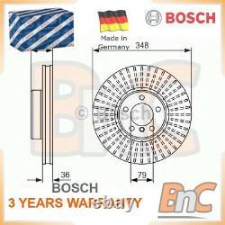 2x BOSCH FRONT BRAKE DISC SET BMW OEM 0986479774 34116779467