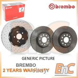 2x BREMBO FRONT BRAKE DISC SET LANCIA DELTA III 844 OEM 09A50011 51827474
