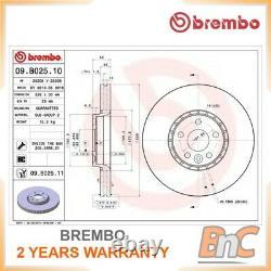 2x BREMBO FRONT BRAKE DISC SET VOLVO XC60 OEM 09B02511 31277342