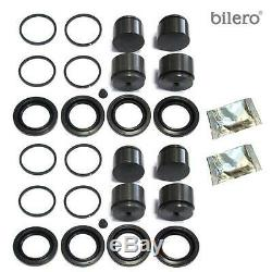 2x Brake Caliper Repair Kit + Piston Front 44mm for Brembo-System Mercedes-Benz