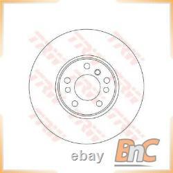 2x FRONT BRAKE DISC SET BMW X5 E53 X3 E83 TRW OEM 34116794300 DF4187S HEAVY DUTY