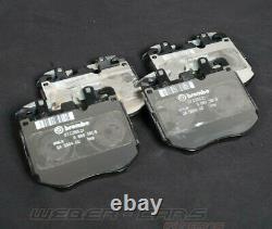 34106888459 OEM BMW 8er G14 G15 G16 M850iX 840dX M Performance Brake Pads 0km