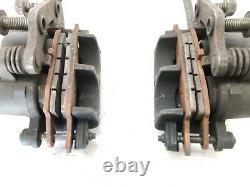 99-02 Suzuki SV650 SV650S front brake system calipers master cylinder hose lever