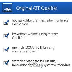 ATE Bremsscheiben Ø 308mm Satz Vorne Belüftet + Bremsbeläge Opel Astra H Zafira