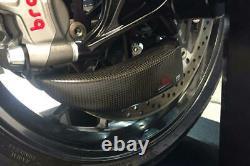 Aprilia RSV4 15-18 CNC Racing Pramac Front Brake Ducts Cooling System + Mounting