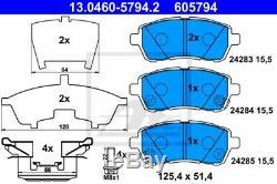 Ate Bremsscheiben + Beläge Vorne Ø258 Mazda 2 3874266