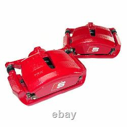 Audi A3 S3 8V Original Brake Calipers Front With Pads 340mm Red System