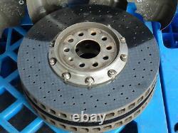 Audi S8 5.2 V10 4E D3 Ceramic Brake System Brake Caliper Brake Discs Set