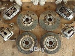 Audi S8 5.2 V10 4E D3 Ceramic Ceramic Brake System Brake Caliper Brake Discs Set