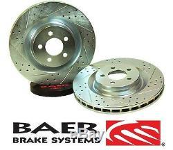 BAER Brake System Front Sport Rotors Pair for 2007-2017 Jeep Wrangler JK