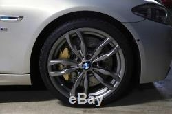 BMW 5 F10 brake adapters to install F10 M5 brake system and brake calipers