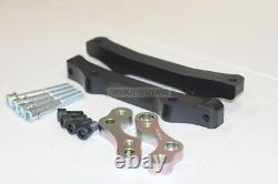 BMW 5 F10 caliper adapters to install F10 M5 brake system for front and rear
