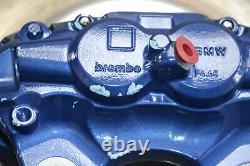 BMW F30 F80 Brake System Caliper M Sport Blue Disc