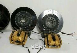 BMW M5 F10 M6 F06 F12 F13 11-16 Carbon Ceramic Brake System Complete Brake