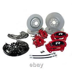 Big brake kit Skoda Octavia Mk3 RS VW Golf Mk6 GTI performance brake calipers