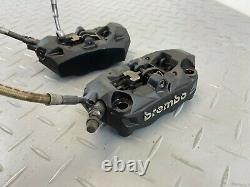 Bmw R1200 Gs K50 K51 2016 Front Brake Calipers Pair System Brake Hose Brembo N2