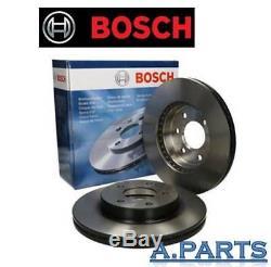 Bosch 2X Brake Disc Front Axle Ø13 11/16in BMW 5ER F10/F11 New