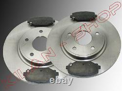 Brake Discs Brake Pads Rear Dodge Journey Fiat Freemont 2012-2016 12 29/32in