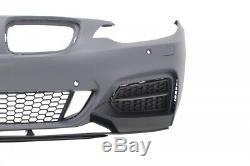 Bumper BMW 2 Series F22 F23 Coupe Cabrio 14+ Lower Lip M235i M-Performance Look