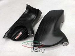 CARBONVANI Ducati Panigale V4 Carbon Front Brake Cooler System CV