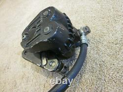 Complete Front Brake System 1974 77 Suzuki GT550 GT380 Caliper Master Cylinder
