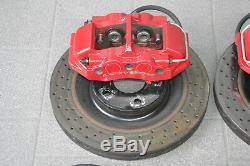 Corvette Z06 C6 Brake System Brake Discs Brake Caliper Red Brake Disc Calipers