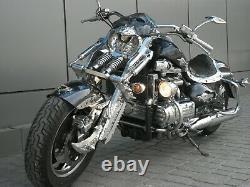 Custom Springer Front system suspension for Trikes, Harley Davidson, Boss Hoss