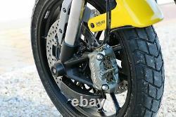 Ducati Scrambler 1100 CNC Racing Front Brake Ducts Cooling System + Mounting Kit