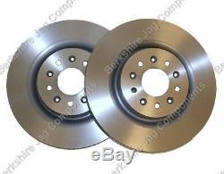 For Jaguar Xkr Front Discs 355mm C2n3428 Non Drilled Brembo Brake System