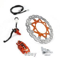 Front Brake System Bracket Master Cylinder Hose 320mm for KTM SX XCW XCF EXC