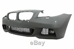 Front Bumper for BMW 5er F10 F11 07.10-13 Non LCI Sedan Touring M-Technik Look