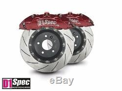 Front RS Anodized Red Forged Big Brake 6pots Caliper / 355mm 2PCS Disc for W204