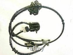 Gokart Quad ATV Buggy Front Stub Wheel Axle Hub Disc Twin Brake System