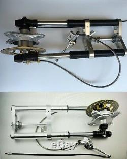 HONDA CT 70 Front reverse disc brake system