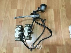 Honda CBR 1000 RR 2009 Front Brake Calipers Master Cylinder Complete System